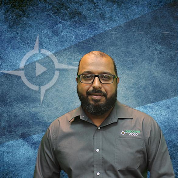 Ayaad Al-Shamroukh VP of Engineering at DiscoverVideo