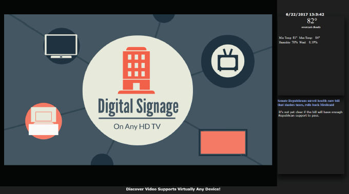Unlimited Digital Signage