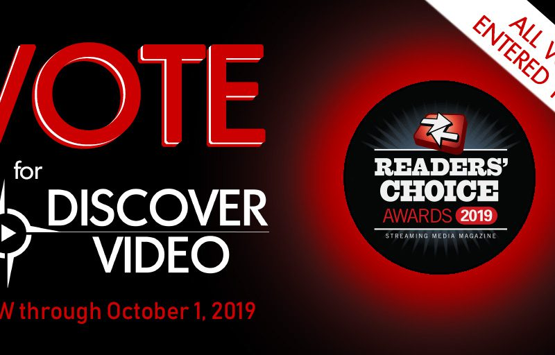 Vote for DiscoverVideo