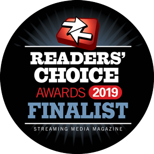 DiscoverVideo Streaming Media Mag Readers' Choice Finalist