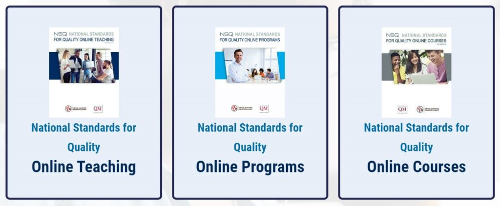 National Standards for Quality Online Learning